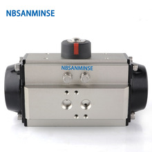 AT ST 065-110 S Pneumatic Actuator Air Torque Ball Valve Butterfly Parts Bump Filter Control High Quality Sanmin