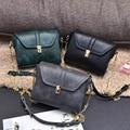 2017 famous brand Retro Minimalist Crossbody Bag Small Women Shoulder Bag Women Messenger Bag diamond chain