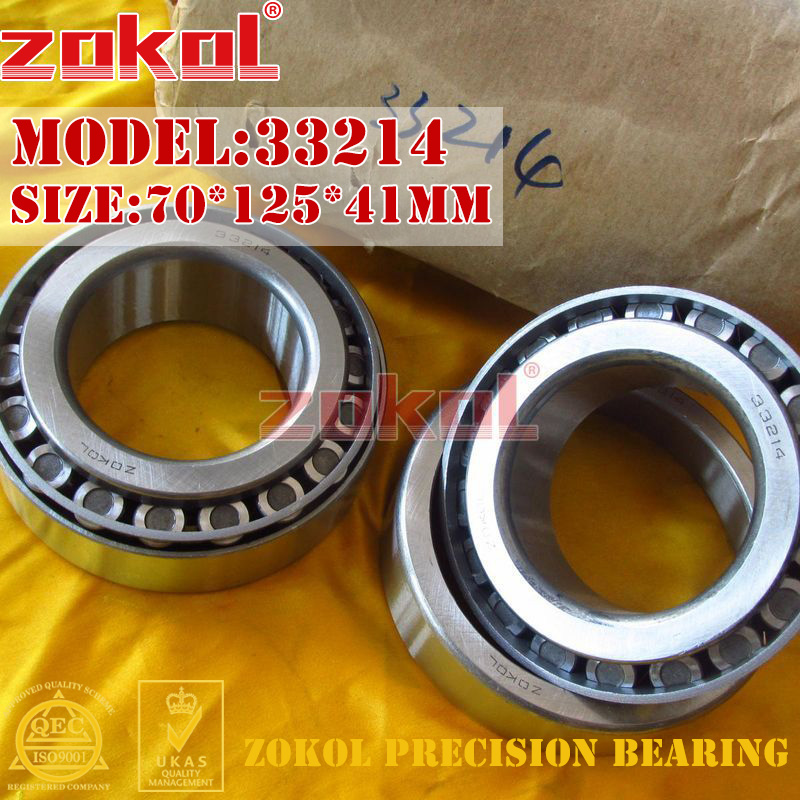 ZOKOL bearing 33214 3007214E Tapered Roller Bearing 70*125*41mm стоимость