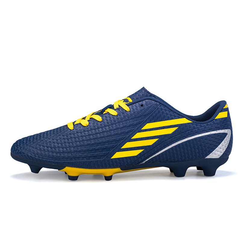 ddcadf6ef New Men Soccer Shoes FG Outdoor Lawn High Ankle Football Boots Training  Cleats