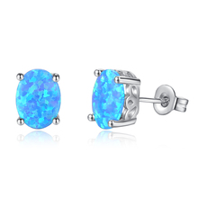 New Fashion Copper Crystal Stud Earrings Female European And American For Women Jewelry Wholesale