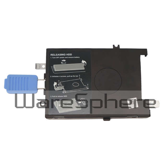Certified Refurbished Dell Precision 17 7000 7510 2.5 HDD Hard Drive Caddy Metal Bracket Frame 745TM