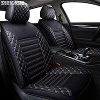 [Kokololee] asiento de cuero pu fundas para smart fortwo nissan juke byd f3 mitsubishi outlander en jeep accesorios de auto