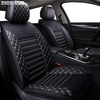 [kokololee] pu leather car seat covers for smart fortwo nissan juke byd f3 mitsubishi outlander jeep renegade auto accessories - DISCOUNT ITEM  45% OFF All Category