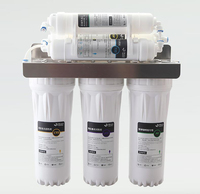 Water Purifier 6 Stage Filter Cartridge PP UDF CTO UF T33 WAF System Water Filters Household direct drinking water purifier