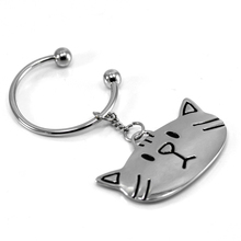 cat keychain cute key ring for women kitty key chain key holder high quality slutelhanger chaveiro llaveros hombre souvenir