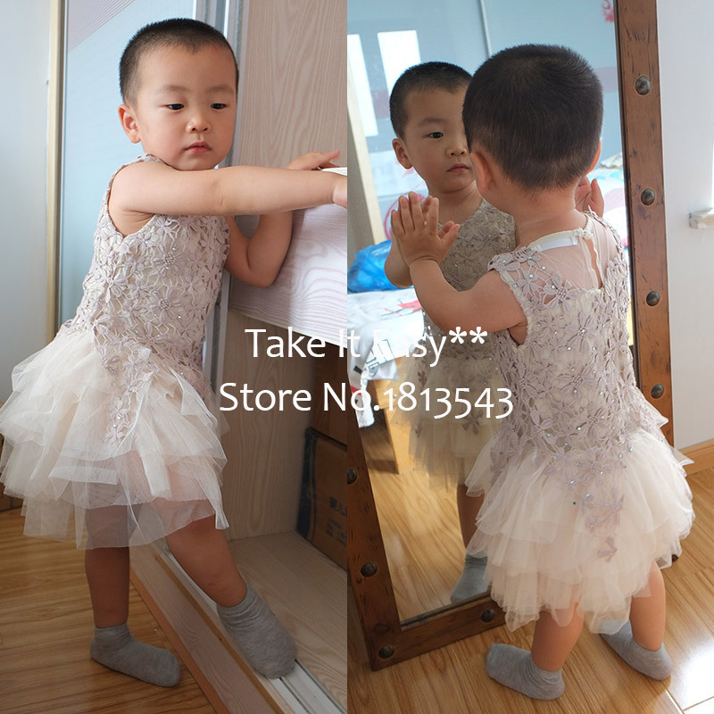 Summer style2015 children baby girls Dress lolita style tutu dress embroidery lace patchwork sleeveless tulle ballet dace dress ems dhl free 2017 new lace tulle baby girls kids sleeveless party dress holiday children summer style baby dress valentine