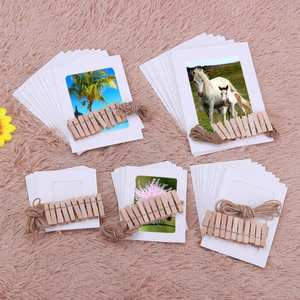 VKTECH 10Pcs DIY Photo Frame inch Pictures Frame Rope Decor