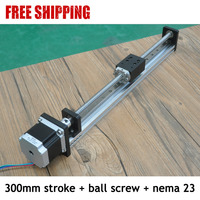 Free Shipping China 65Kg Load Linear Motion Guide Ball Screw For Cutting Machine
