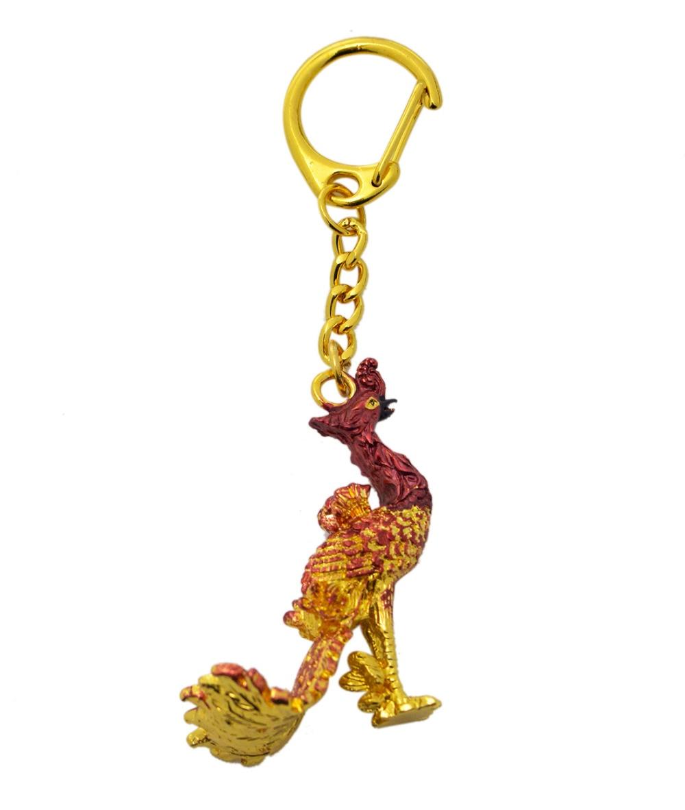 2017 neue Feng Shui Crimson Phoenixes Keychain - Wohnkultur - Foto 5