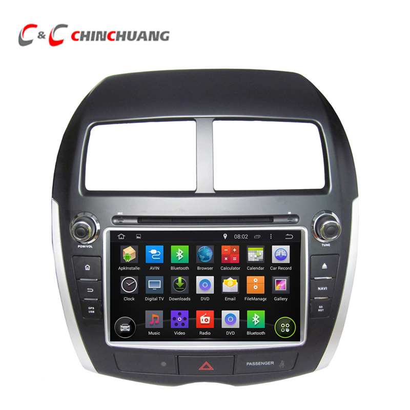 HD Android 5.1.1 Car DVD Player for Mitsubishi ASX RVR PEUGEOT 4008 CITROEN <font><b>C4</b></font> with GPS Radio Canbus BT, WiFi DVR, Mirror Link