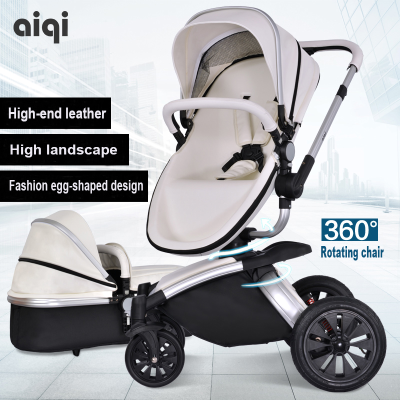 Baby stroller aiqi child car light folding shock absorbers baby stroller bb car 2 in 1 baby stroller baby sleeping basket newbor baby stroller ultra light portable folding cart shock absorbers car umbrella bb baby child small baby car