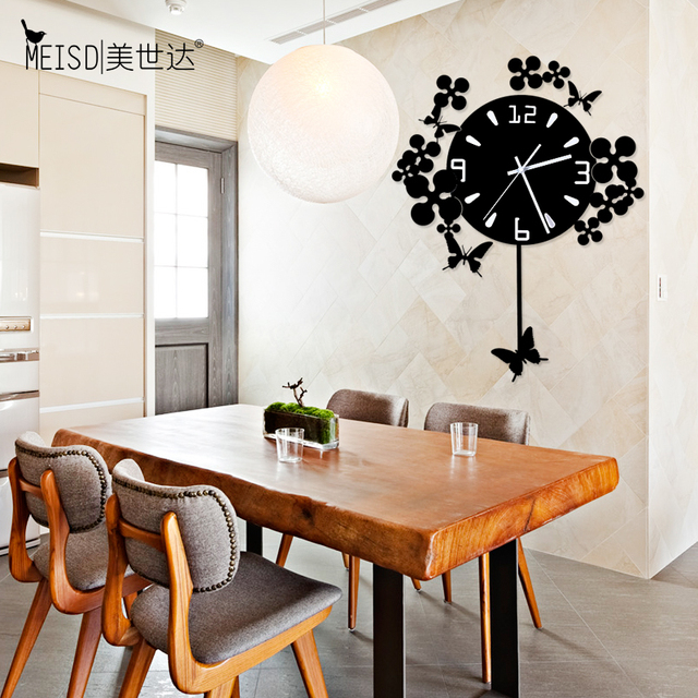 The United States Star European Fashion Watch Modern Minimalist Living Room Art Creative Personality Quartz Clock