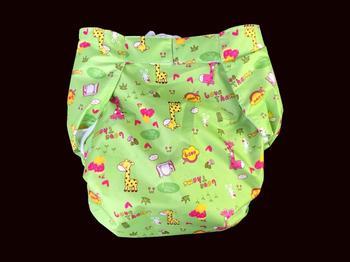 2 pcs*Hai'an reusable adult urinary incontinence  diaper light green#MPM01-10