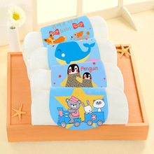 New Original 32 * 24CM Four-layer Absorbent Towel Cotton Cartoon Gauze Strap Baby Cloth Wipes Limited Time Special Offer
