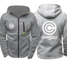 Capsule Corp Sports Zipper Track Jacket