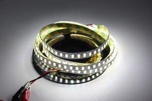 Image 4 - 120leds/m 5M led streifen SMD 5730 Flexible led band licht SMD 5630 Nicht wasserdichte weiß/warm weiß 4000K NWDC12V