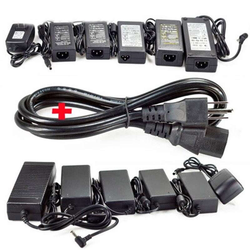 LED Power Adapter AC 220V To DC 5V 12V 24V 1A 2A 3A 5A 6A 8A 10A LED Driver Low Voltage LED Transformer For LED Strip CCTV