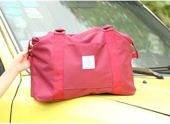 Folding Travel Bag Nylon Travel Bags Hand Luggage for Men & Women Fashion Travel Duffle Bags Tote Large Handbags Duffel men travel bag genuine leather large capacity travel trip duffel bag hand luggage crossbody bags tote men s handbags bolsahombre