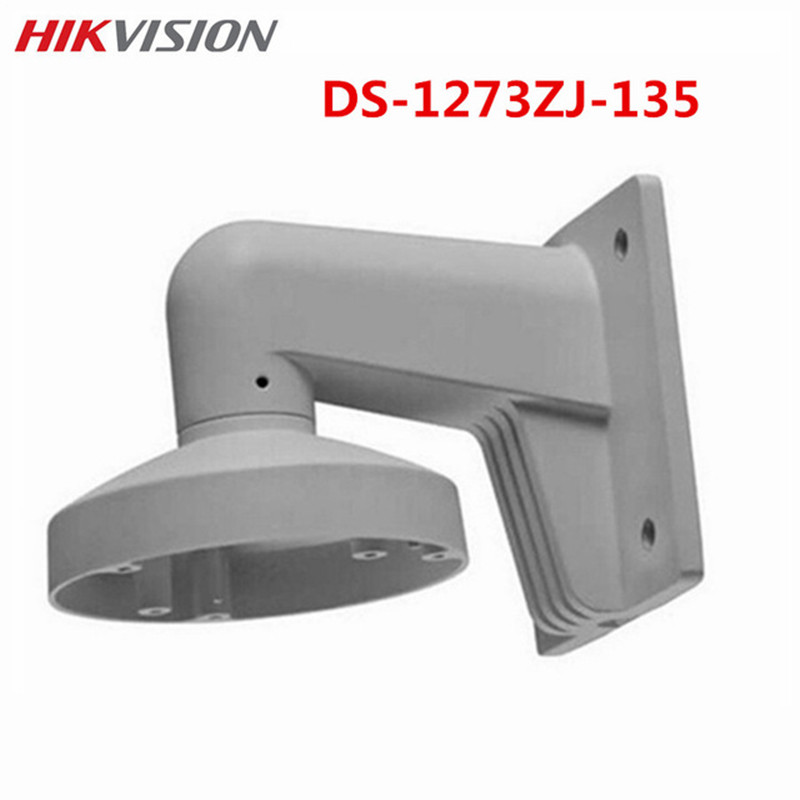 Wall Mount Outdoor bracket DS-1273ZJ-135 CCTV Accessories Suit For DS-2CD2732F-IS DS-2CD2732F-I IP Surveillance Camera ds 1273zj 135 aluminum alloy bracket wall mount bracket for ip dome camera ds 2cd2732f is