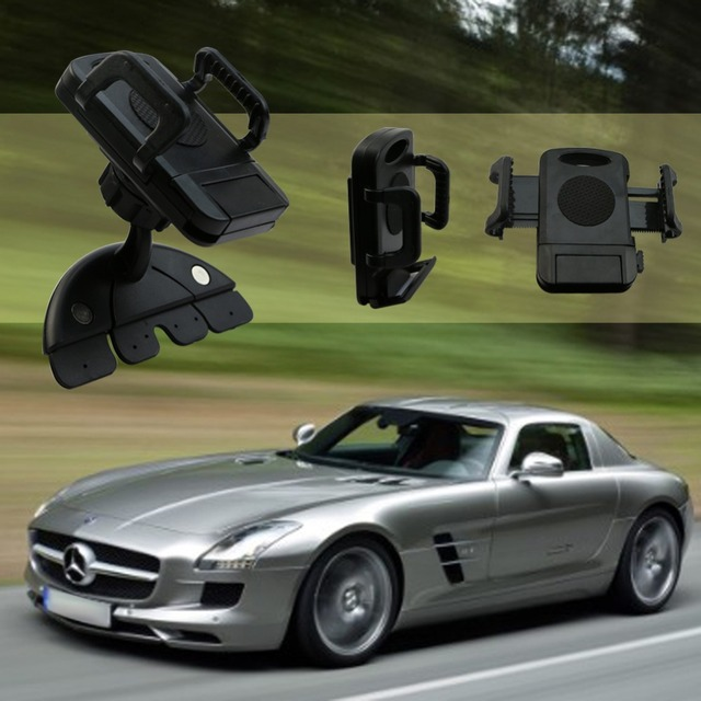 Car Styling Hot UNIVERSAL Dash CD Slot Mount Holder Car Dock For ...