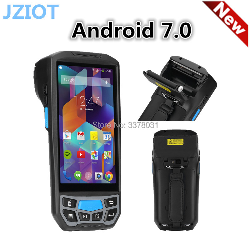5.0 дюймов Android Bluetooth промышленных КПК 58 мм Портативный Термальность принтера