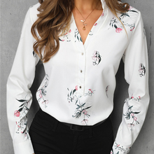 2019 Trend Women Stylish Leisure Fashion White Blouse Elegant Tops Workwear 11 C