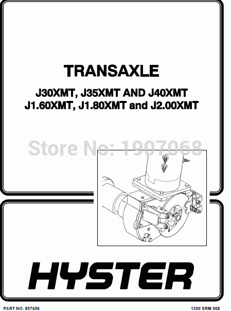 New Hyster Repair Manuals PDF 2017 for FULL SET version on