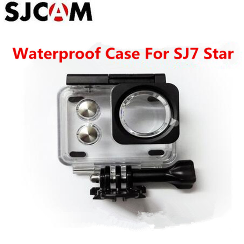 Original SJCAM cam accessories SJ7 Star Waterproof Case Underwater 30M Dive Housing Case Camcorder for SJCAM SJ7 action Camera