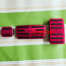Anti-skid Old Style 2015 2016 Pedals Pad For Honda CRV CR-V Accelerator Gas Brake Pedal With Logo Car Styling