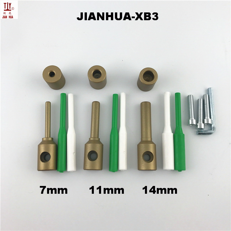 7/11/14mm Plumbing Repair Tools Plastic PPR Repair Die Heads Welder Tool Accessories Welding Plastic Pipes PPR Pipe Repair