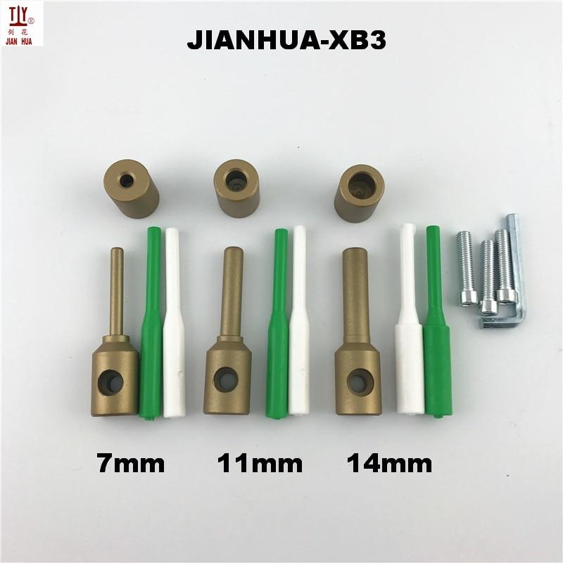 7/11/14mm Plumbing Repair Tools Plastic PPR Repair Die Heads Welder Tool Accessories Welding Plastic Pipes PPR Pipe Repair