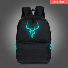 Marca OL Estilo Preppy Mochila de Lona mochila Saco de Escola para o Adolescente Meninas meninos Mochila moda luminosa T2053