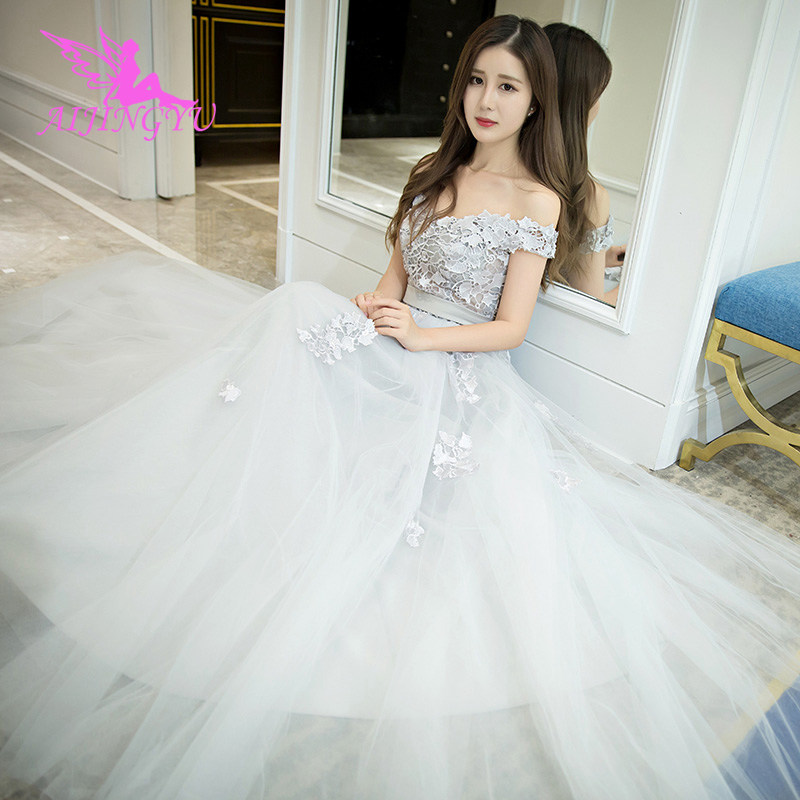 AIJINGYU Evening Dress Party Gown 2018 Elegant Sexy Formal Special Occasion Dresses For Women Fashion Gowns