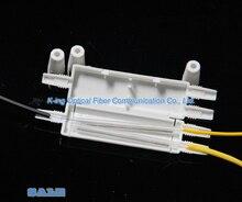 50 stücke Drop kabel schutz box Optische faser Schutz box schrumpf schläuche zu schützen fiber splice tray 1 in 2 aus
