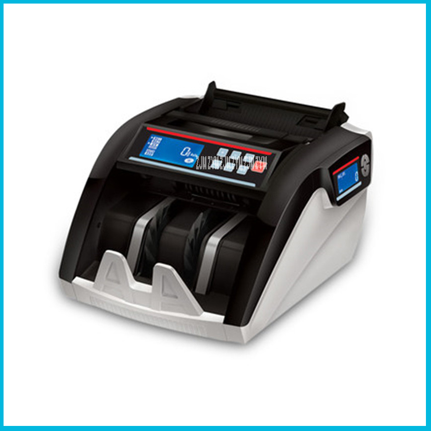 New Design Currency Counting Money Counter UV+MG+MT+IR +DD Detection 5800 Special for dollars, RM, euro Multi-Currency 110V/220V