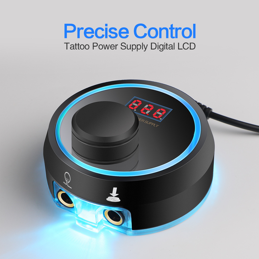 Rotary Tattoo Machine Power Supply Newest Mini Aurora Critical Power for Tattoo Rotary Machine Liner Professional Digital LED