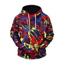 Hip Hop Creative Graffiti Hoodies Mens 2019 Autumn Casual Pullover Sweats Hoodie Male Fashion Skateboards Sweatshirts