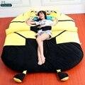 Дориа Trader 210см X 180см Большой Аниме Minion Кровать Фаршированные Мягкая презренный Me Beanbag Ковер Татами 4 Размеры Бесплатная доставка DY61000
