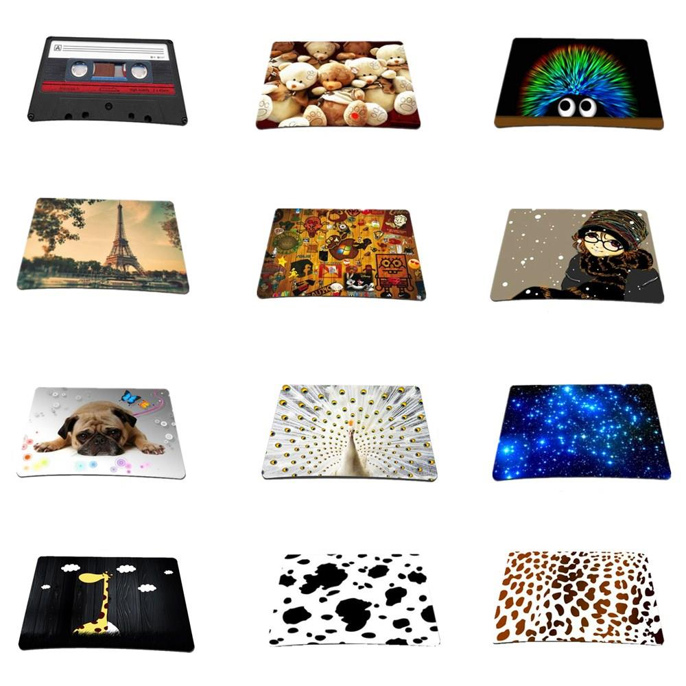 Stylish cute Multiple Design Anti-Slip Mouse Pad Mice Pad Mat Mousepad For Optical Laser Mouse For Laptop Computer Notebook cute kitten footprint bathroom long anti slip mat 45 x 120 cm