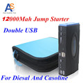 Newest Car Jump Starter 12000mah High-power Portable Dual-USB Emergency Car Digital Product Battery Charger