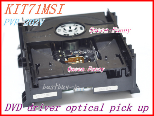 DVD driver KIT71MSI PVR-202V DVD optical pick up KIT 71MSI ( PVR 202V ) HI-FI DVD LASER LENS