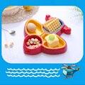 Детская Посуда Самолет Дизайн Нескольких Отдельных Кормление Тарелки Чаша Дети Посуда Дети Чаша