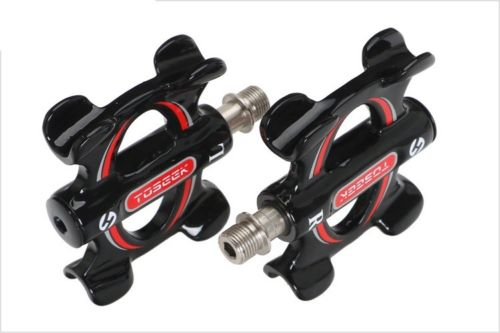 Carbon fiber MTB Mountain Road BMX <font><b>Bike</b></font> Bearing <font><b>Pedals</b></font> flat Bicycle <font><b>Pedal</b></font> 278g