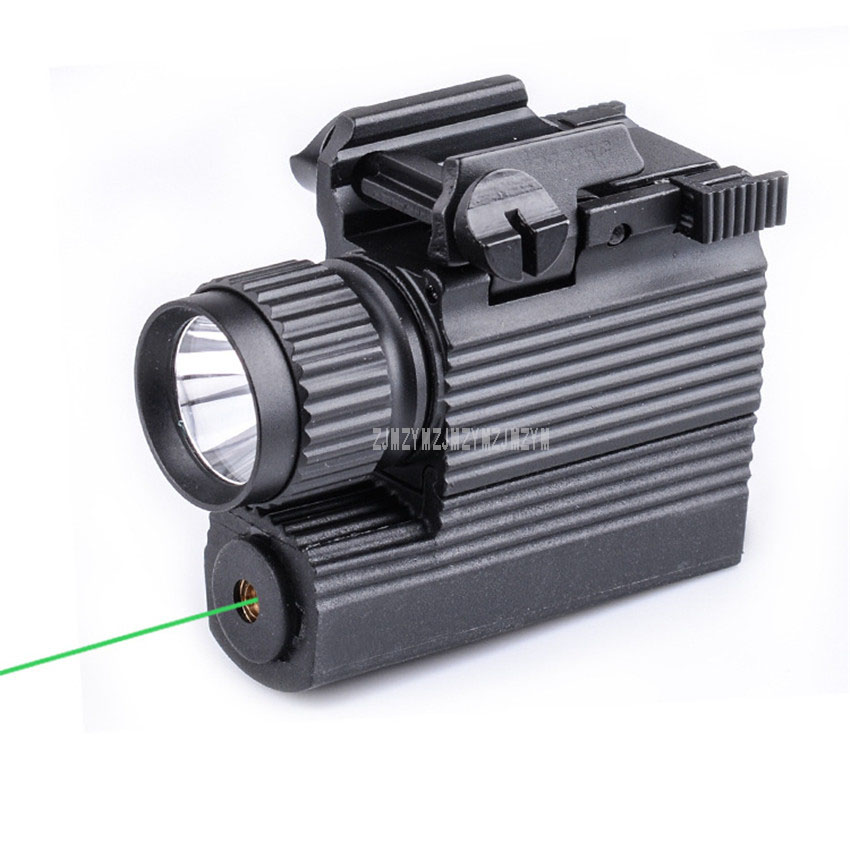 купить M008G 2 in 1 Green Dot Laser Sight + LED Hunting Laser Gun light Tactical 250 Lumen Weapon Light Flashlight Torch For Pistol Gun по цене 2522.03 рублей