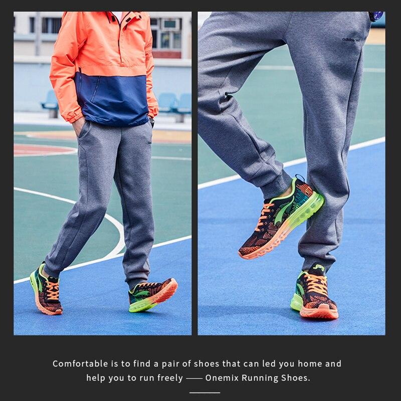 ONEMIX Air course chaussures pour hommes femmes 97 respirant maille athlétique plein Air Jogging baskets Max 12.5 - 6