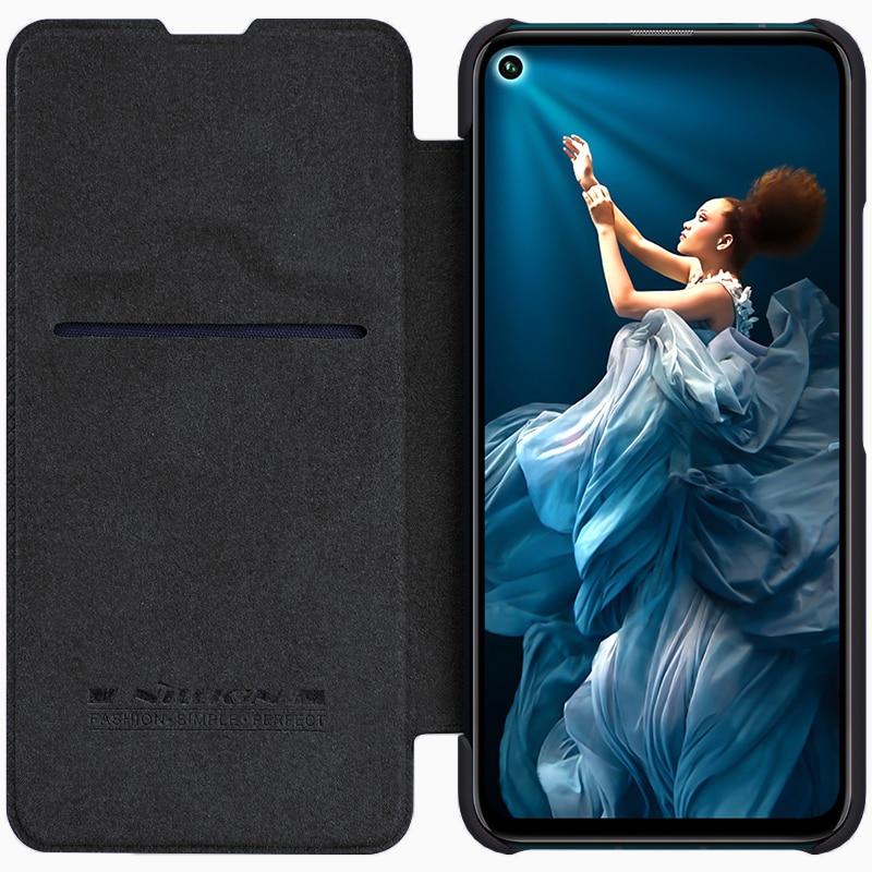 NILLKIN Case Wallet Card-Pocket QIN Honor Cover For 20-Pro Flip Huawei