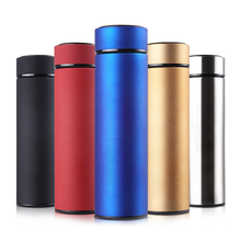 500 ML 304 Stainless Steel Thermos Tea Vacuum Flask With Filter Thermal Cup Coffee Mug Water Bottle Office Business Home Thermo 450ml hot water thermos tea vacuum flask with filter stainless steel 304 sport thermal cup coffee mug tea bottle for winter