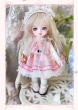 Free shipping 1/8 BJD Do Bambi 8 points(China)