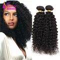 Cabelos encaracolados peruano Afro Kinky Curly Cabelo Peruano Kinky Curly Virgem Cabelo, não transformados Peruano Tecer Cabelo Virgem
